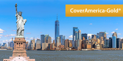 CoverAmerica-Gold is the Best Plan for U.S. Visitors